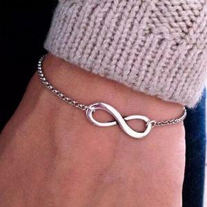 Infinity Cross Chain Bracelet Anklet